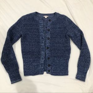 Gap Designed & Crafted Label Waffle Knit Cardigan
